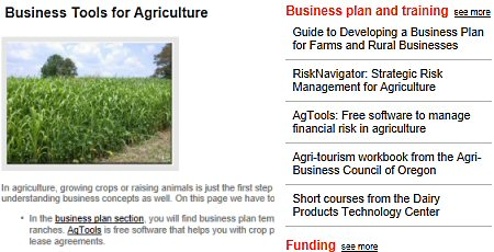 Click to see Merced County's agriculture page