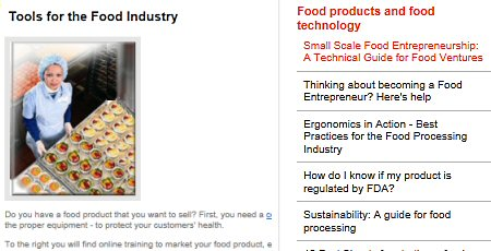 Click to see Santa Fe Chamber's Food Industry page